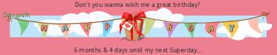 Daisypath Happy Birthday (MBgP)