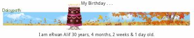 Daisypath Happy Birthday tickers